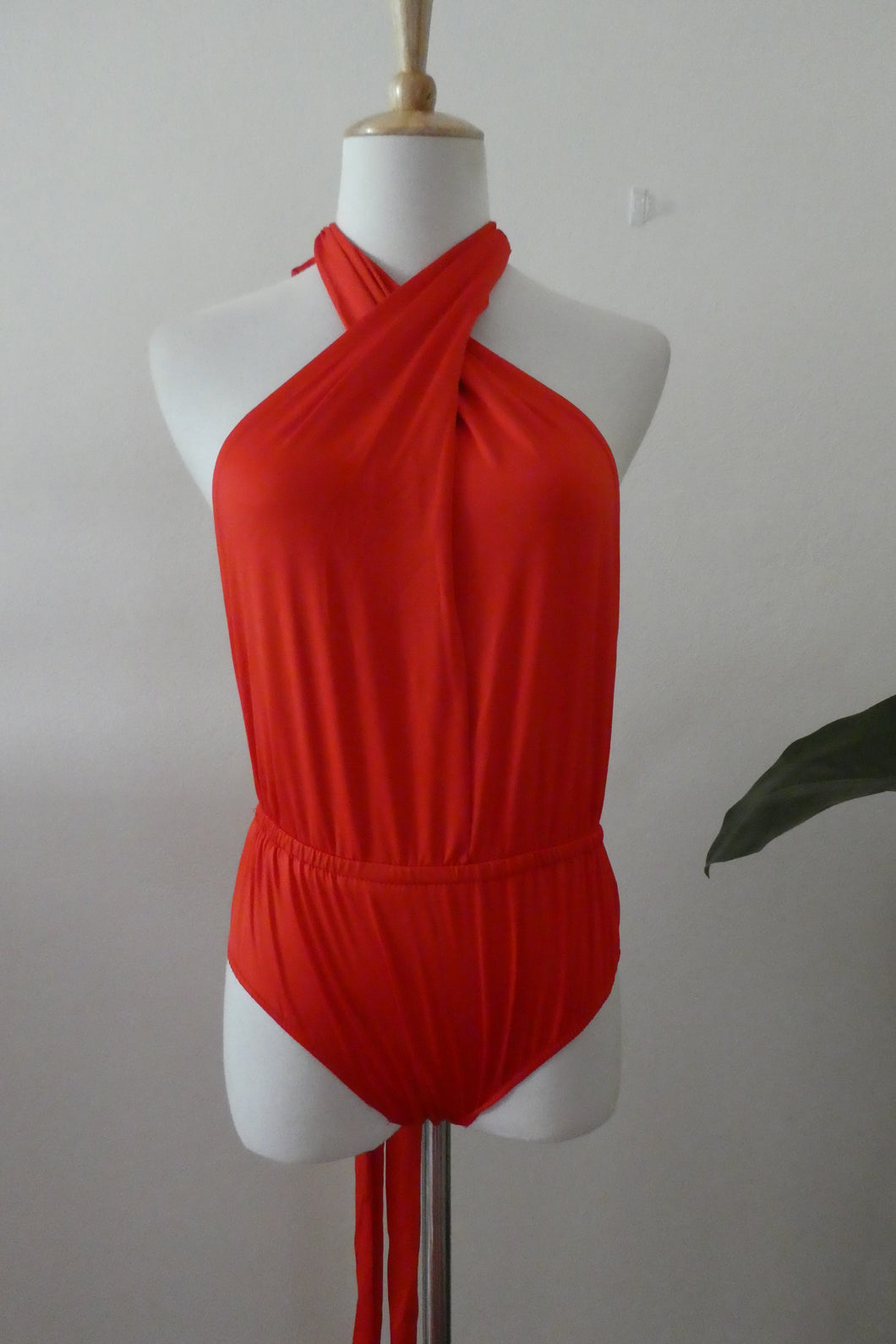 Original Infinity Bodysuit - In Red