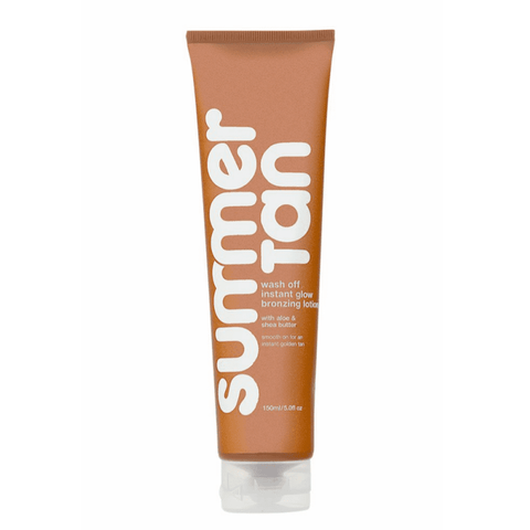 Summer Tan Wash Off Instant Glow Bronzing Lotion