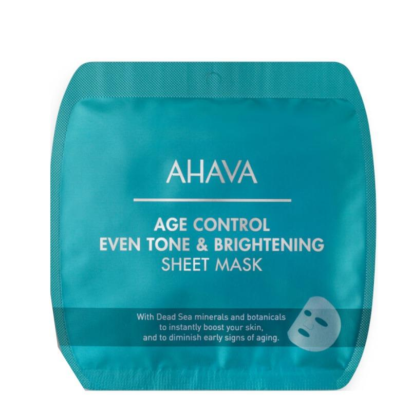 AHAVA Age Control Even Tone & Brightening Sheet Mask