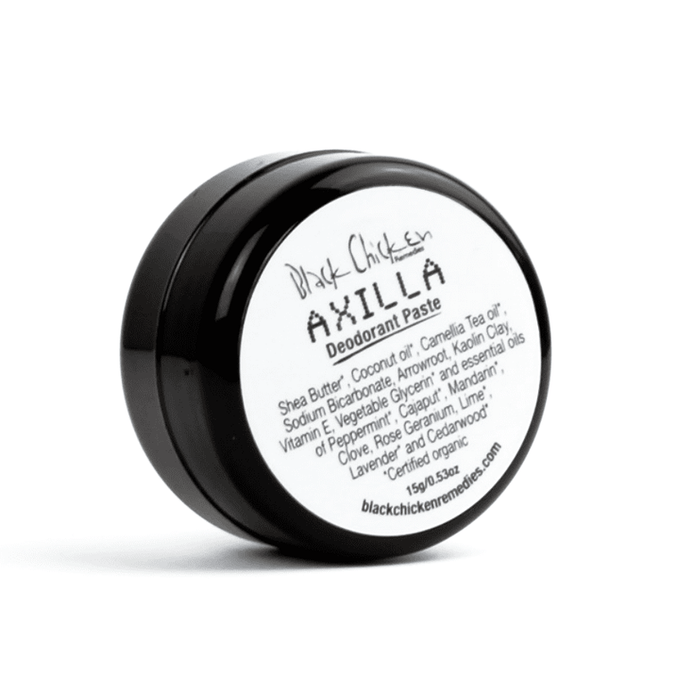 Black Chicken Remedies Axilla Deodorant Paste Mini 15g