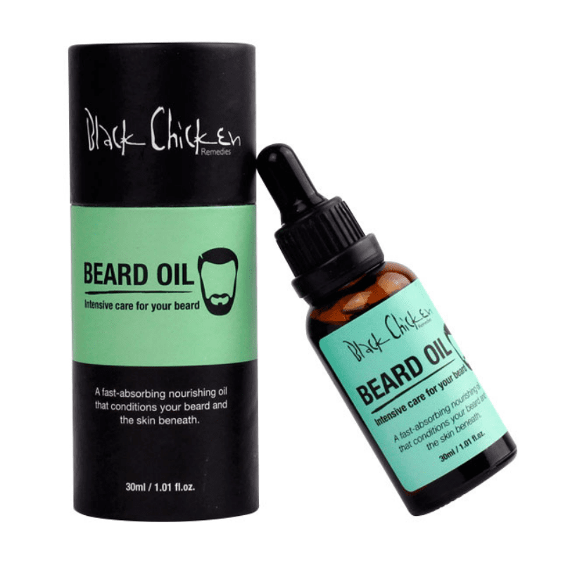 Black Chicken Remedies Beard Oil 30ml - AbsoluteSkin