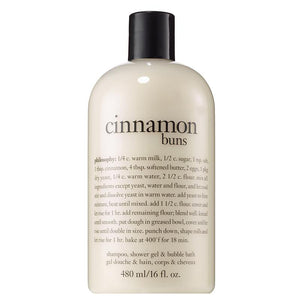 Philosophy Cinnamon Buns Shampoo, Shower Gel and Bubble Bath 480ml