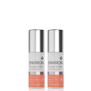 Environ Focus Care Radiance+ Mela-Fade Serums A+B