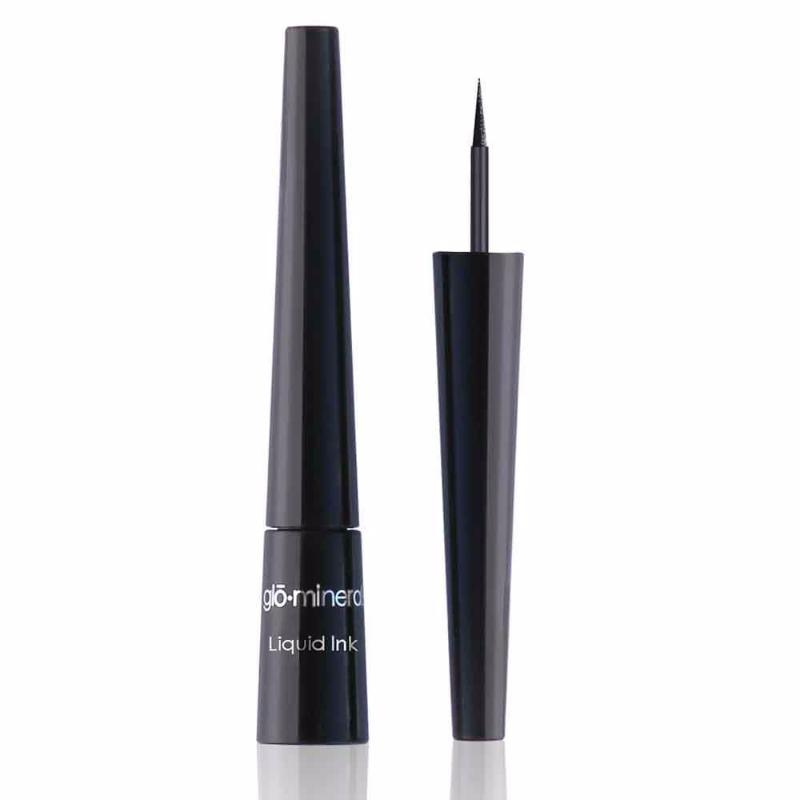 Load image into Gallery viewer, Glo Minerals Liquid Ink Eyeliner - Black 2.5ml, | primary image