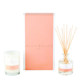 Palm Beach Collection Watermelon Mini Candle & Diffuser Gift Set