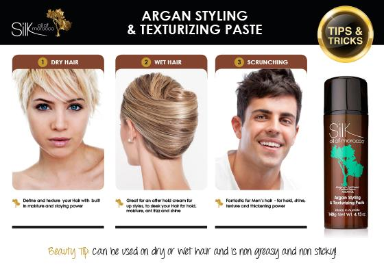 Silk Oil of Morocco Argan Styling & Texturizing Paste | primary image