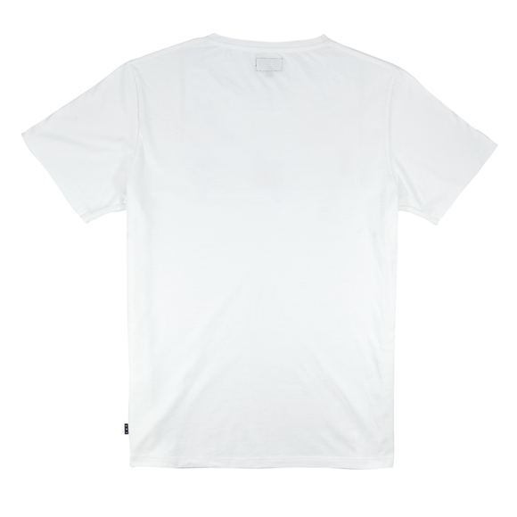 Lost Not Found - Simple Tee White
