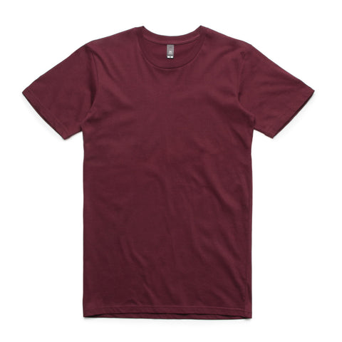 Paris Club Plain Sora Tee - Maroon - Buy Online