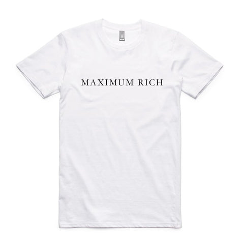 Maximum Rich Saidai Kingaku T-Shirt - Buy Online