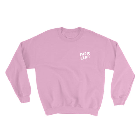 Antisocial Paris Club Sweater in Pink - Buy Online