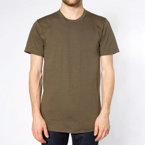Paris Club Plain Sora Tee - Army Green - Buy Online