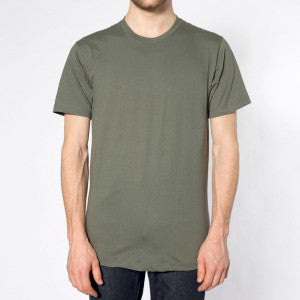 Paris Club Plain Sora Tee - Charcoal Green - Buy Online