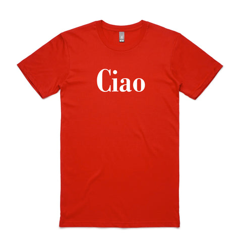 Ciao T-Shirt in Red - Buy Online