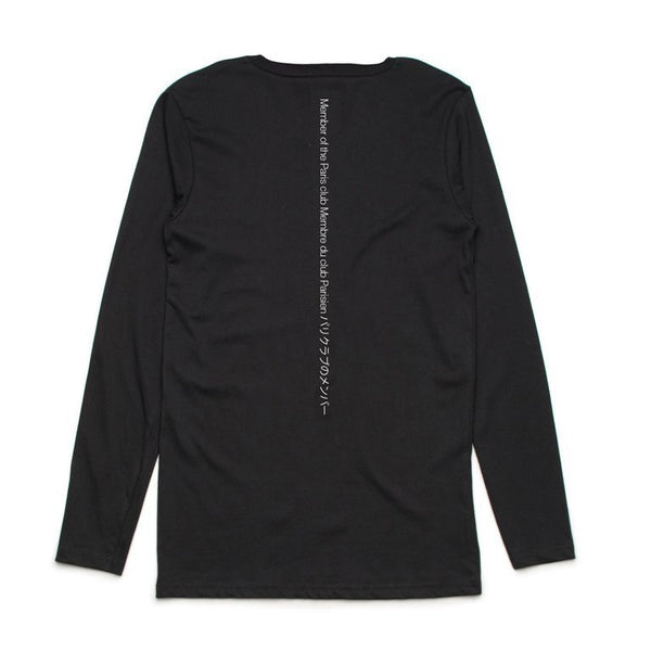 Member of the Paris Club Centre Arrière Longsleeve Tee - Buy Online