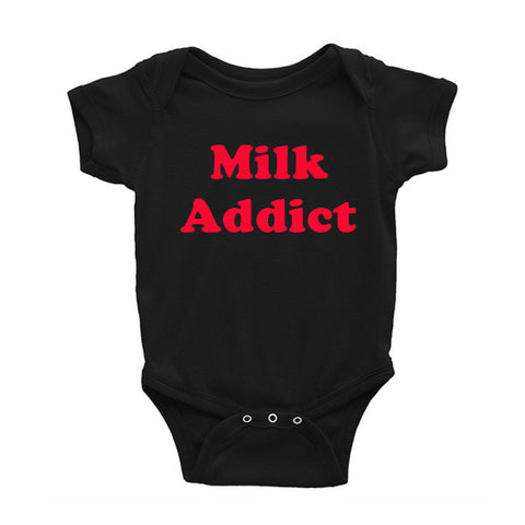 Milk Addict Baby Onesie - Buy Online