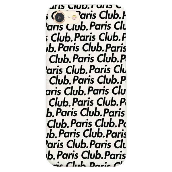Paris Club Overprint iPhone Case - Buy Online