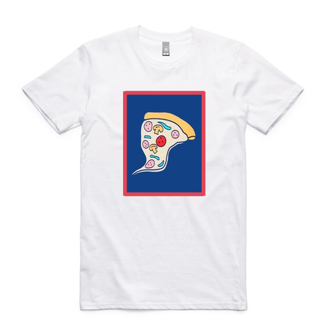 Bonjour Pizza Graphic T-Shirt - Buy Online