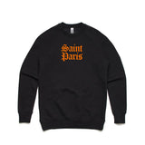 Saint Paris Black Sweatshirt - Buy Online