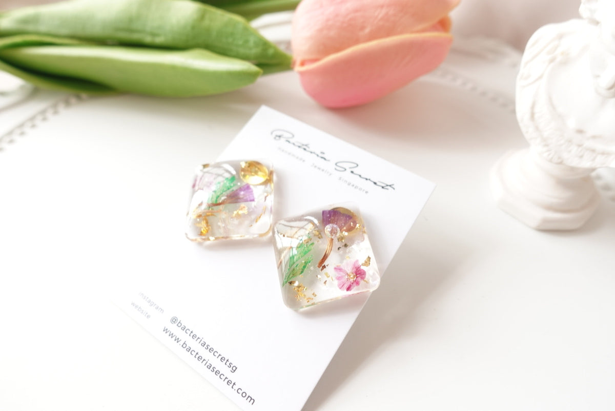 🌸Spring Collection🌸 Aquila Mixed Flower Studs
