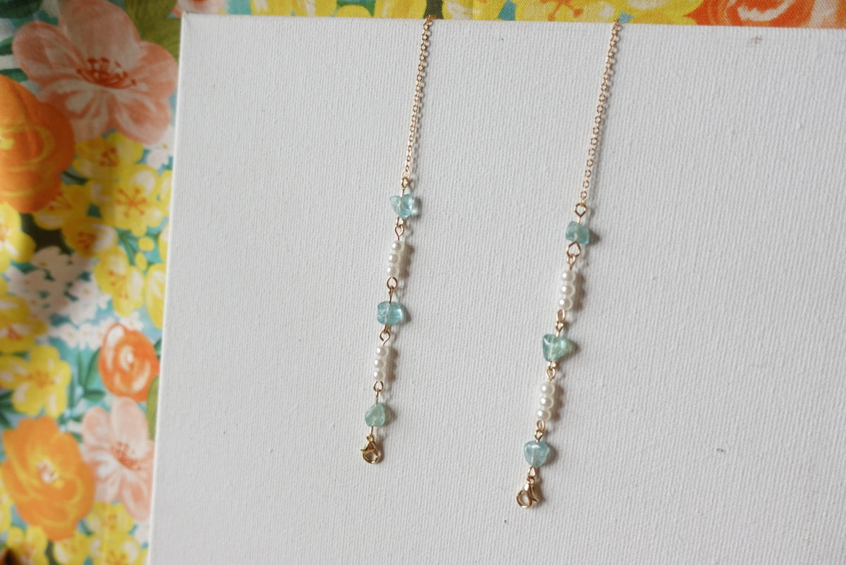 Gemstone Mask Necklace