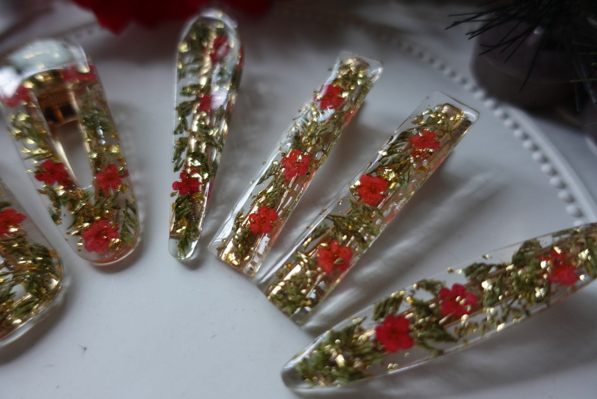 Jolly Christmas Hair Clip