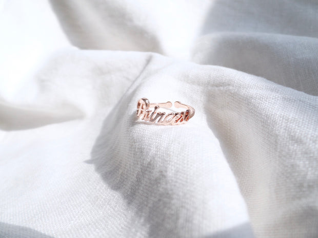 Princess Ring in Rose Gold
