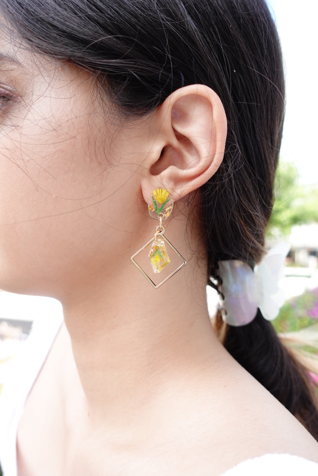 🌸Spring Collection🌸 Ariella Yellow Flower Earrings
