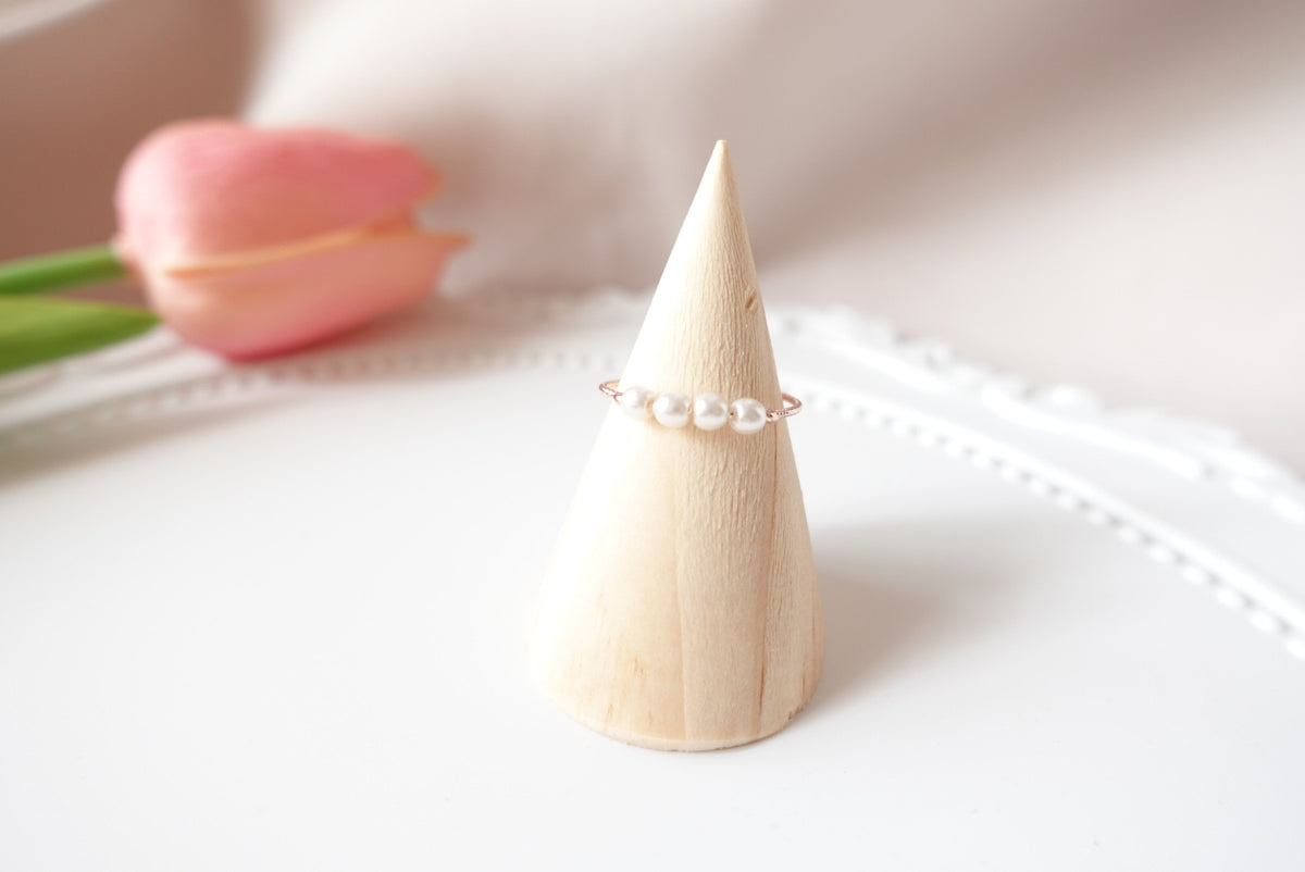 Andraline Pearl Ring (adjustable)