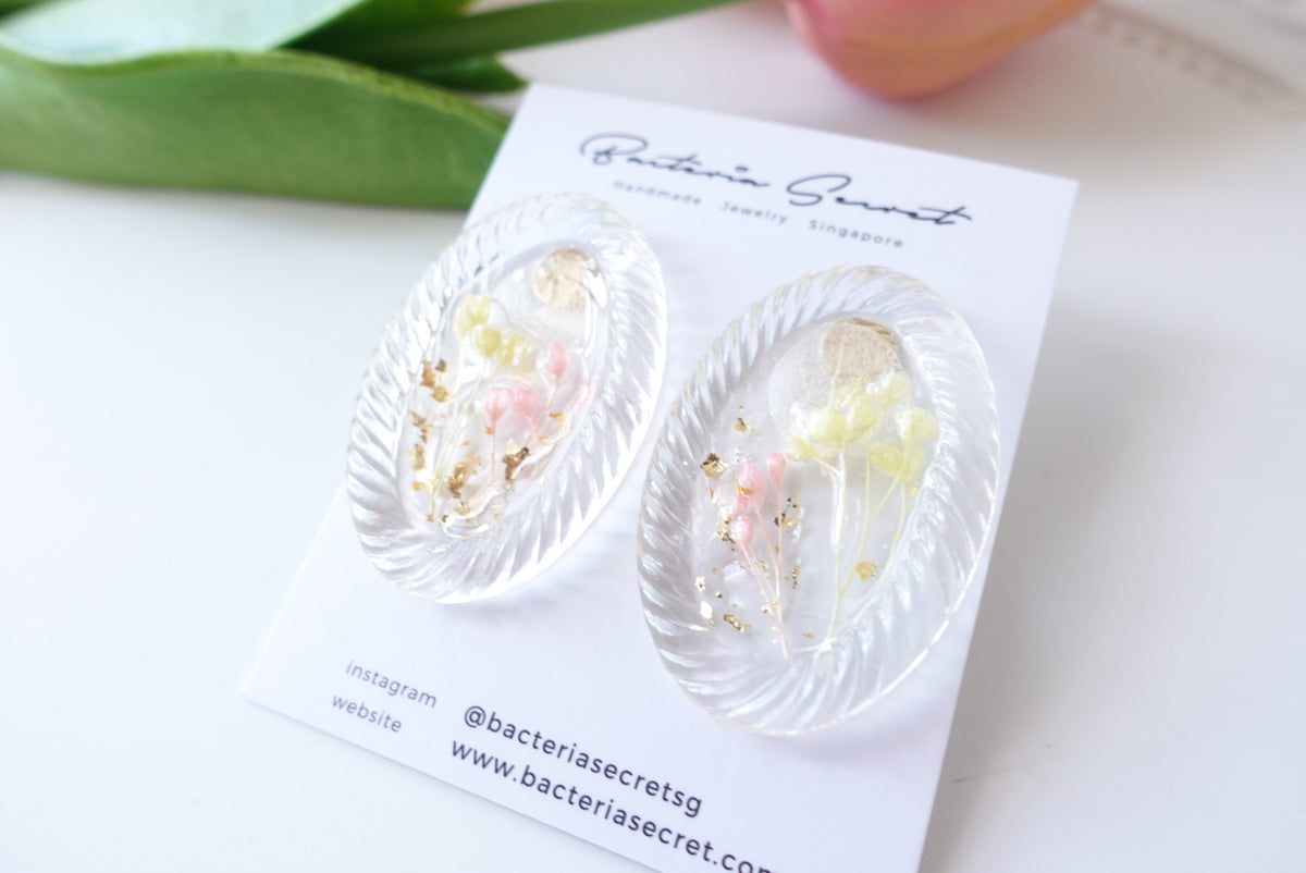 🌼Summer Collection🌼 Atalie Pastel Baby's Breath Studs