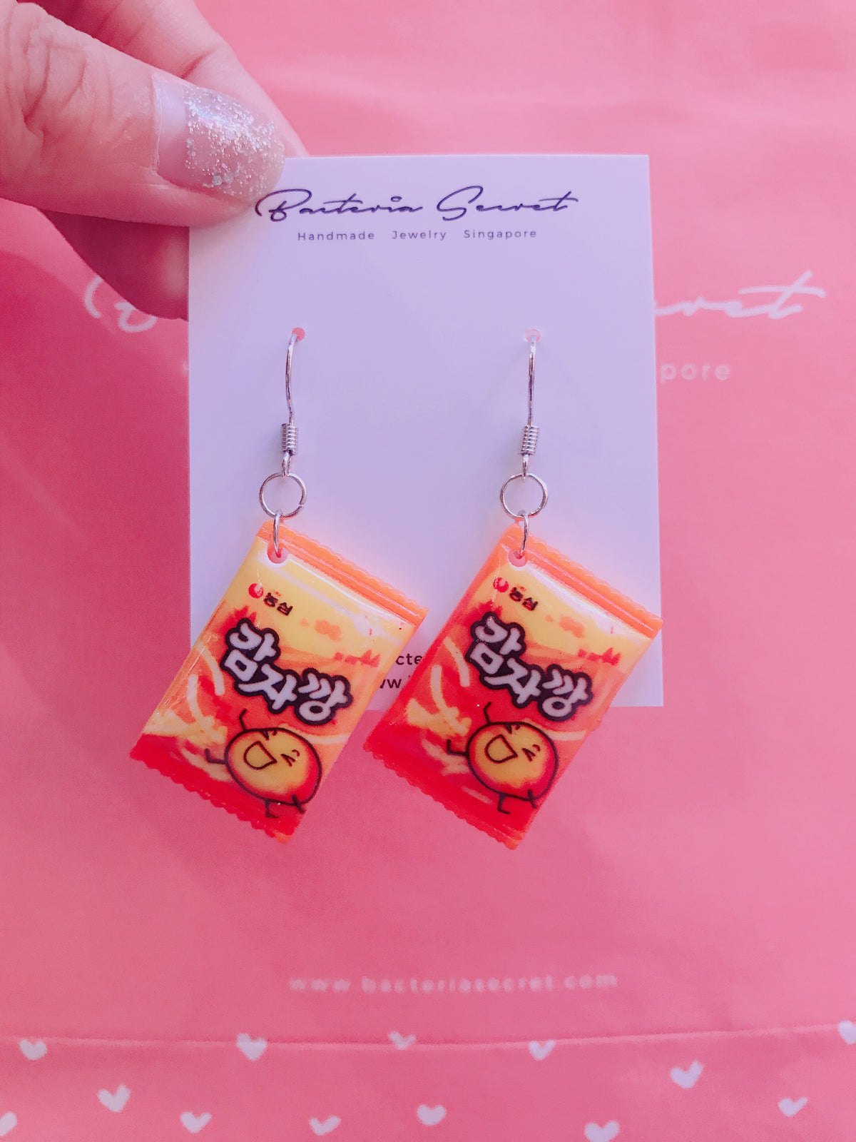 Potato Chips Earrings