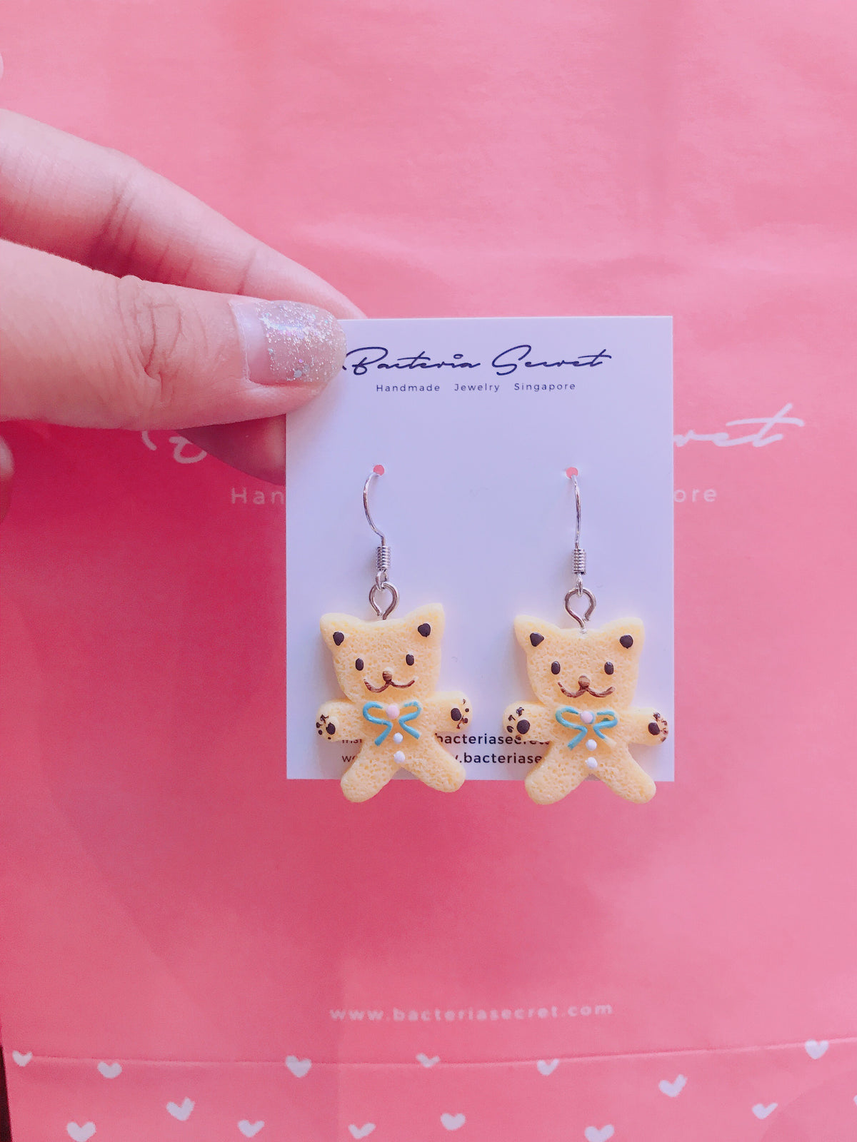 Cat Cookies Earrings