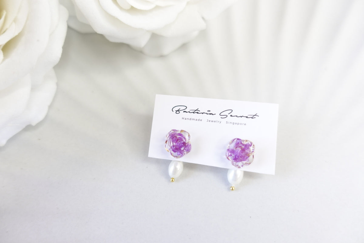 🌼Summer Collection🌼Awendea 2 ways Flower Earrings