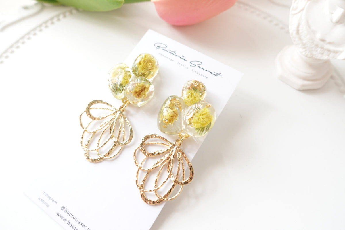 🌸Spring Collection🌸 Arbela Irregular Shapes Flower Earrings
