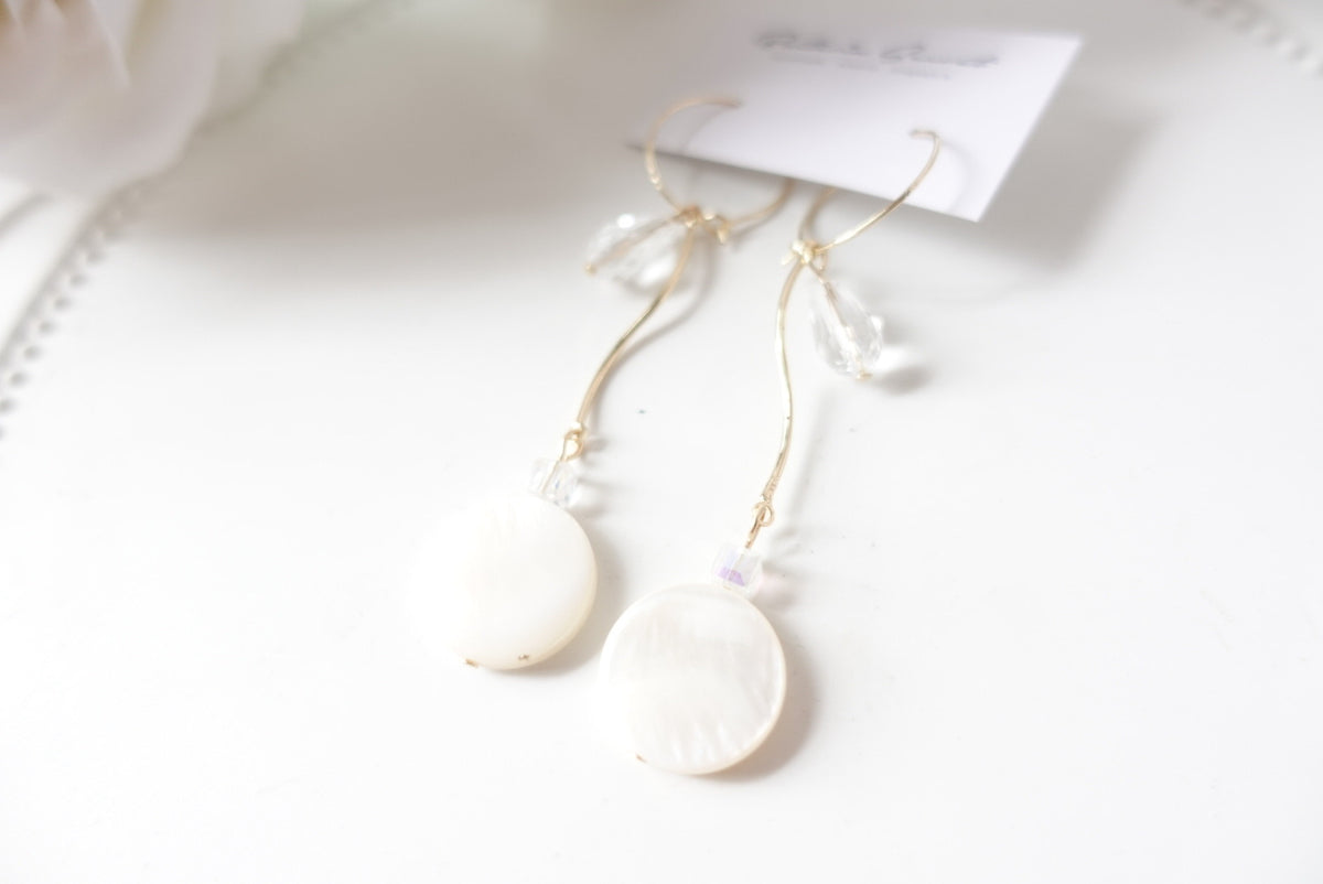 Beyza Seashell Earrings