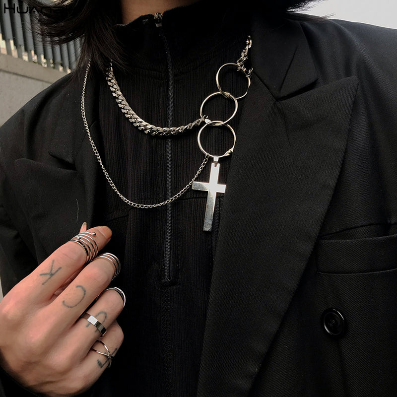 CROSS LAYERED Necklace