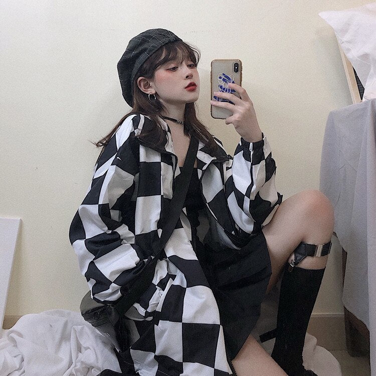 CHECKERED Jacket