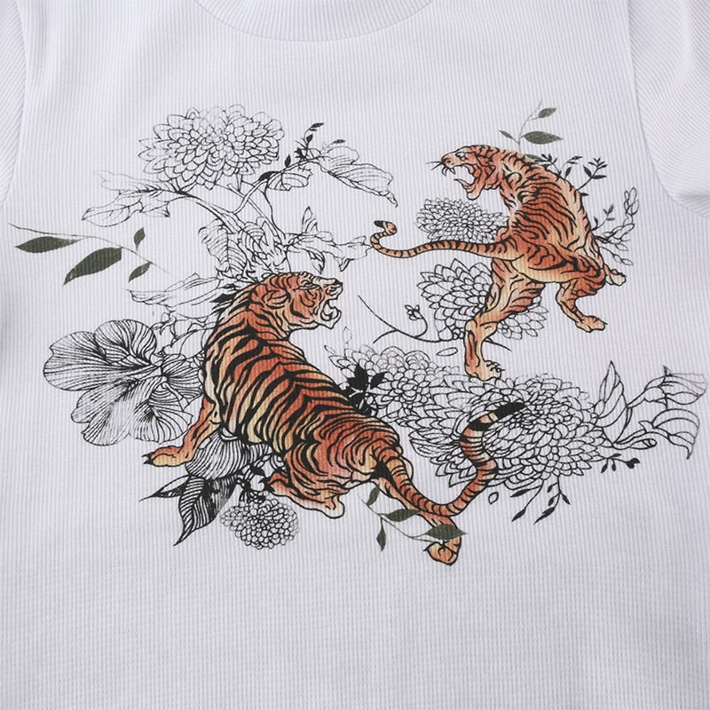 TIGERS Crop Top