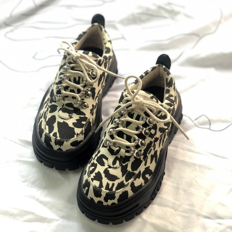 LEOPARD CHUNKY Shoes