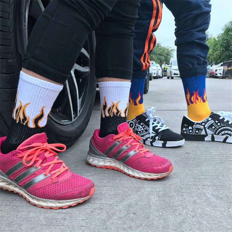 Color Fire Socks
