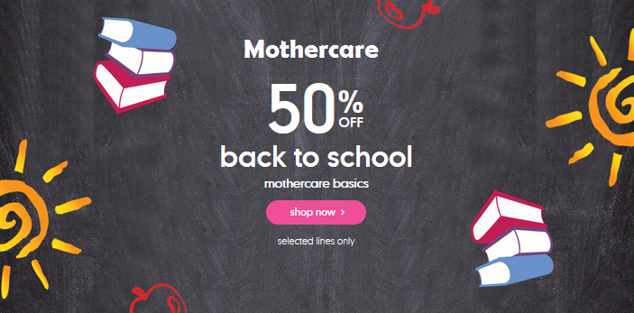 Mothercare Back to School Deals | shylee shop