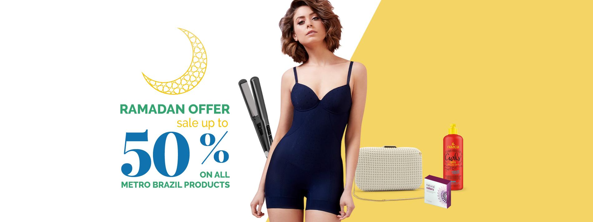 Metro Brazil   50% OFF + 10% Extra OFF With Code: SHYLEE   shyleeshop