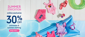 Mothercare Online -| summer Staycation:30%OFF | www.shyleeshop.com