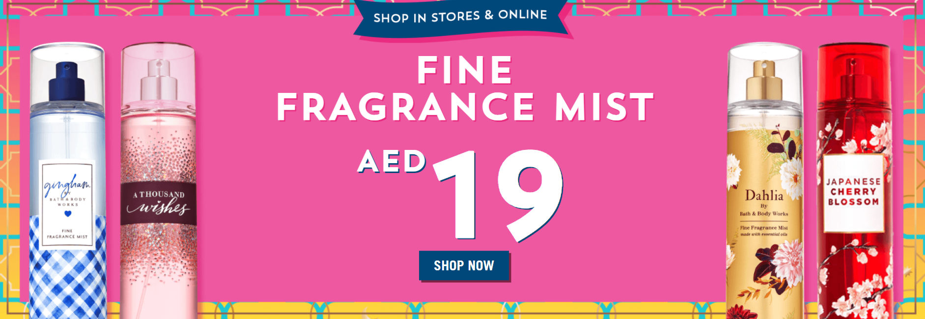 Bath & Body Works   Fragrance Mist AED19 + 5% Extra OFF With Code: G522   >> Shop Now   shyleeshop