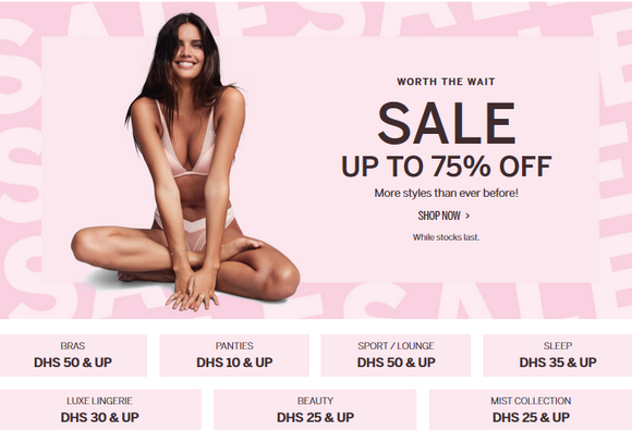 victoria's Secret Semi Annual Sale | shyleeshop.com