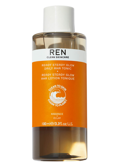 Lookfantastic | REN Clean Skincare Ready Steady Glow Daily AHA Tonic 100ml - Shylee Online Shop