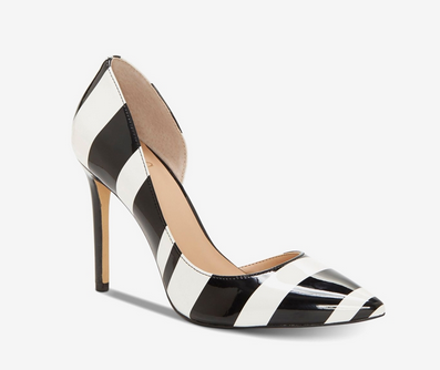 INC-Kenjay d'Orsay Pumps, Black/White - Shylee Online Shop