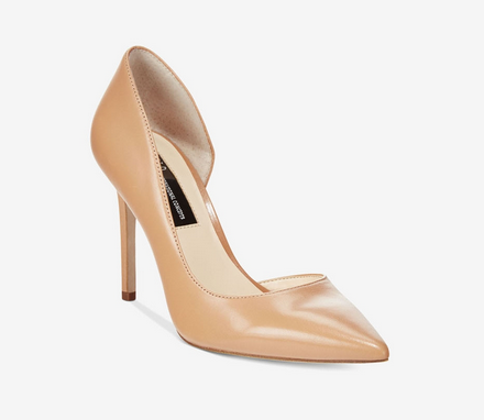 INC-Kenjay Dorsay Pumps, Brown - Shylee Online Shop
