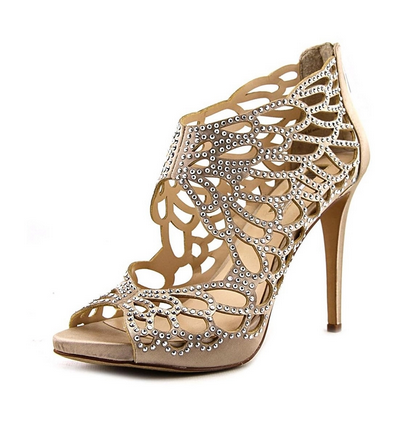 INC-Sarane Evening Sandals, Bisque - Shylee Online Shop