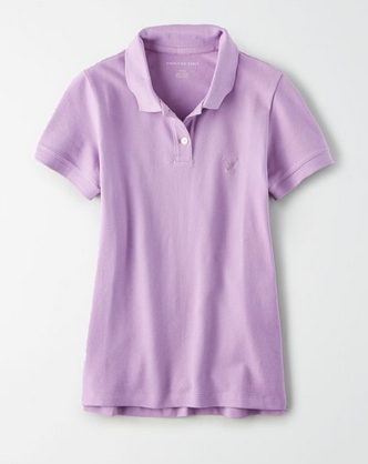American Eagle Short Sleeve Polo Shirt - Shylee Online Shop