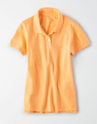 American Eagle Short Sleeve Polo Shirt - Shylee shop